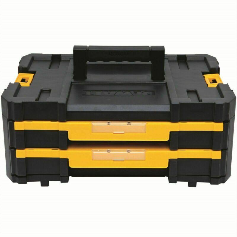 Dewalt Tstak Iv Double Drawer Storage Box - Usa Brand