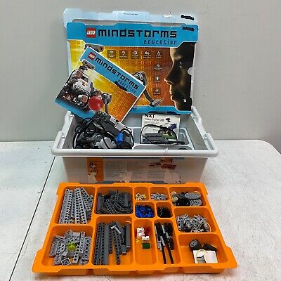 LEGO Mindstorms NXT Education Set 9797 CD/DVD Brick Sensors Motors AS IS