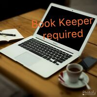 Once a month BookKeeper Required