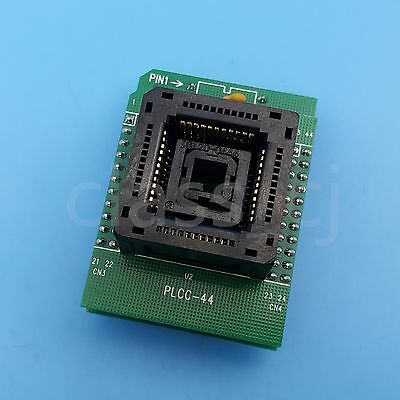 Plcc44 To Dip40 Ic Programmer Adapter Chip Test Socket Double Pcb Board