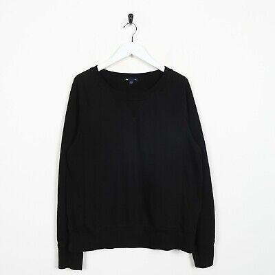 Vintage GAP Sweatshirt Jumper Black | Medium M