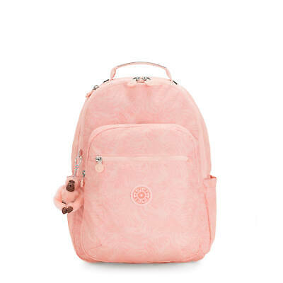 "Kipling Seoul Large 15"" Printed Laptop Backpack Wild Palm"