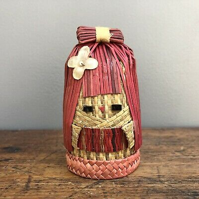 Vintage Japanese Kokeshi Doll - Genuine Japanese Collectible - Antique Folk Art