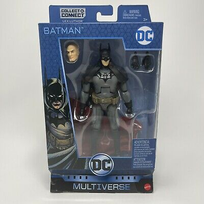 "DC Multiverse Batman Gotham by Gaslight 6"" Figure Lex Luthor Collect Connect NEW"