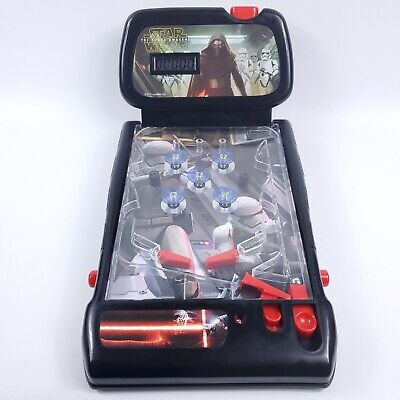 STAR WARS THE FORCE AWAKENS 2009 Pinball Electronic Tabletop Lights Sound Scores