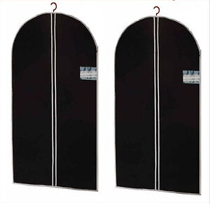 2 x Kleidersack Kleiderhülle Kleidersäcke Schutzhülle Kleider Hülle 150 x 60cm