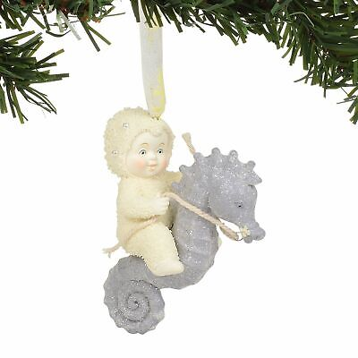 Department 56 Snowbabies Seahorse Ornament 6003533 Snowbaby 2019 Dept NEW