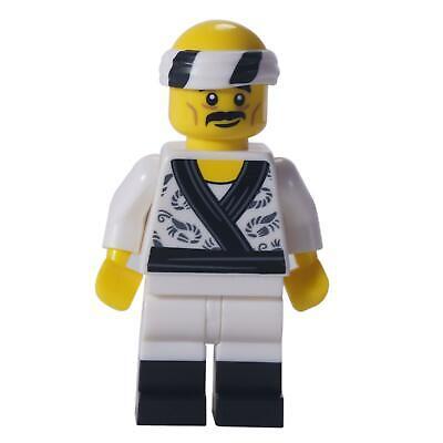 1 LEGO Minifigure Sushi Chef Collectible Minifigures
