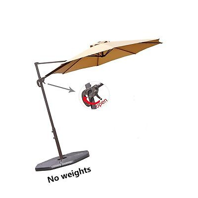 Backyard Creations Furniture 10 ft Cantilever Umbrella