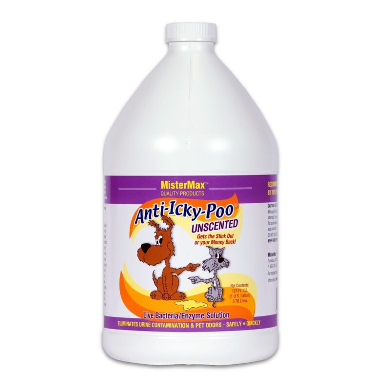 UNSCENTED ANTI ICKY POO  ODOR REMOVER - 1 Gallon (AIP-UN-G)