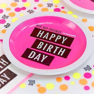 Neon Birthday Theme (