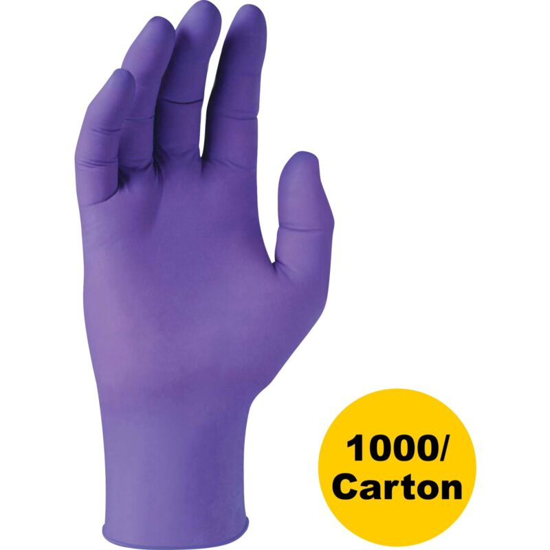 Kimberly-Clark Professional PURPLE NITRILE Gloves Purple Small 6 mil 1000/Carton