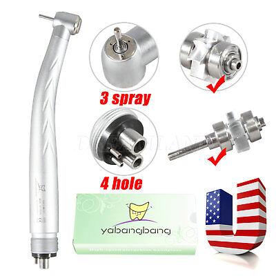 Midwest Dental High Speed Handpiece Triple3way Spray 4 Hole Air Turbine Mj4