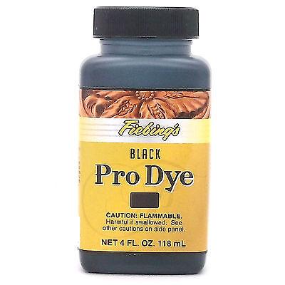 Fiebing's Professional Oil Dye Black 4 oz (118 mL) 2110-01