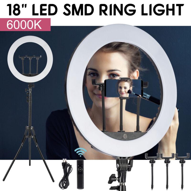 """Neewer 18"""" LED Ring Light 85W 5500K Dimmable Ring Light Kit for Studio Shooting"""