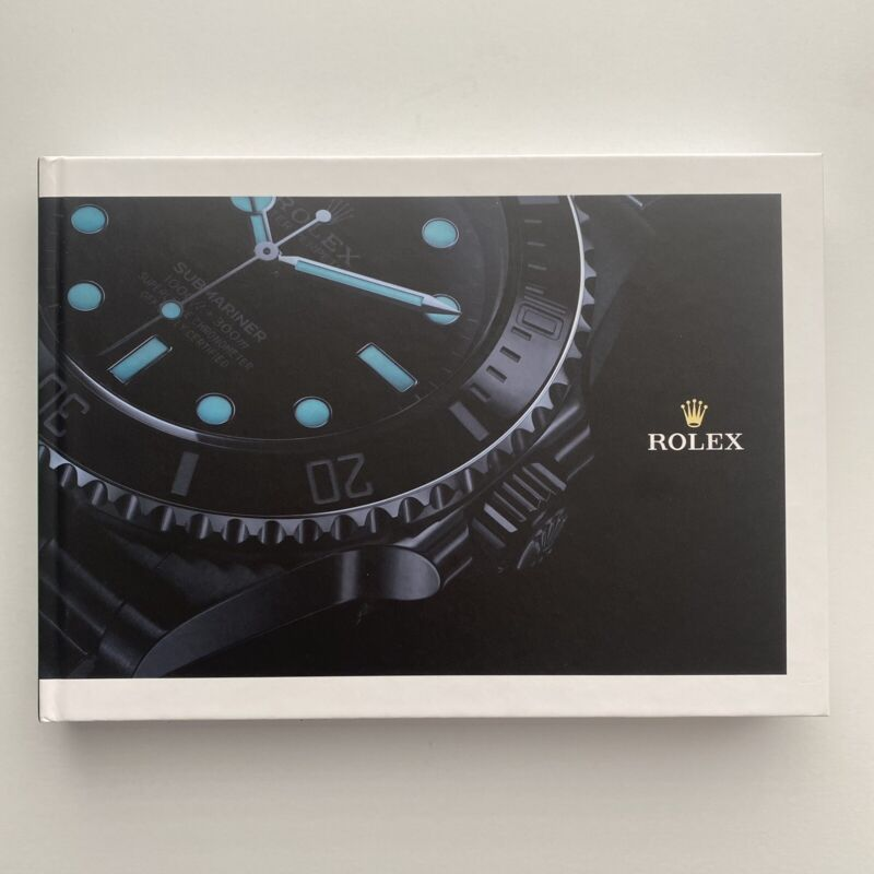 New Rolex Hard Cover Coffee Table Watch Catalog / Book 2020 - 2021