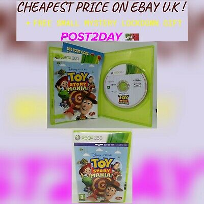 Toy Story Mania ~Xbox 360 ~Cheapest Price ~Post2Day ~Free Gift
