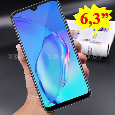"""Android Phone - New 6.3"""" Android 8.1 Smartphone Dual SIM Unlocked Mobile Phone Quad Core Cheap"""