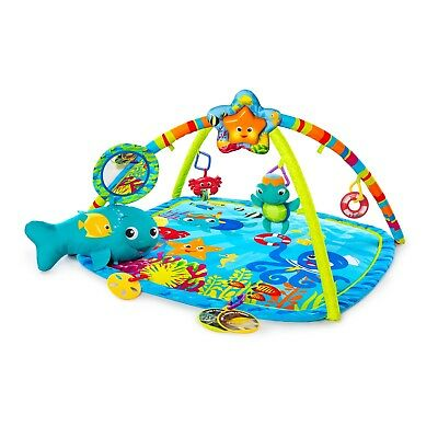 Baby Toy Play Activity Mat Gym Floor Center Motion Lights Music Soft Toys (Best Baby Gym Mat)