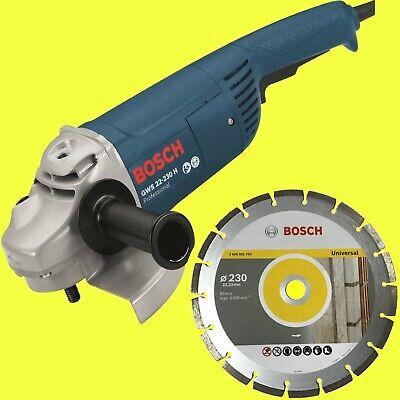 BOSCH PWS 20-230 J 0603359V00 WINKELSCHLEIFER FLEX 2000 WATT BIS 230 MM NEU