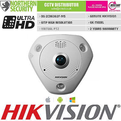 Разное HIKVISION PTZ FISHEYE Camera 6MP