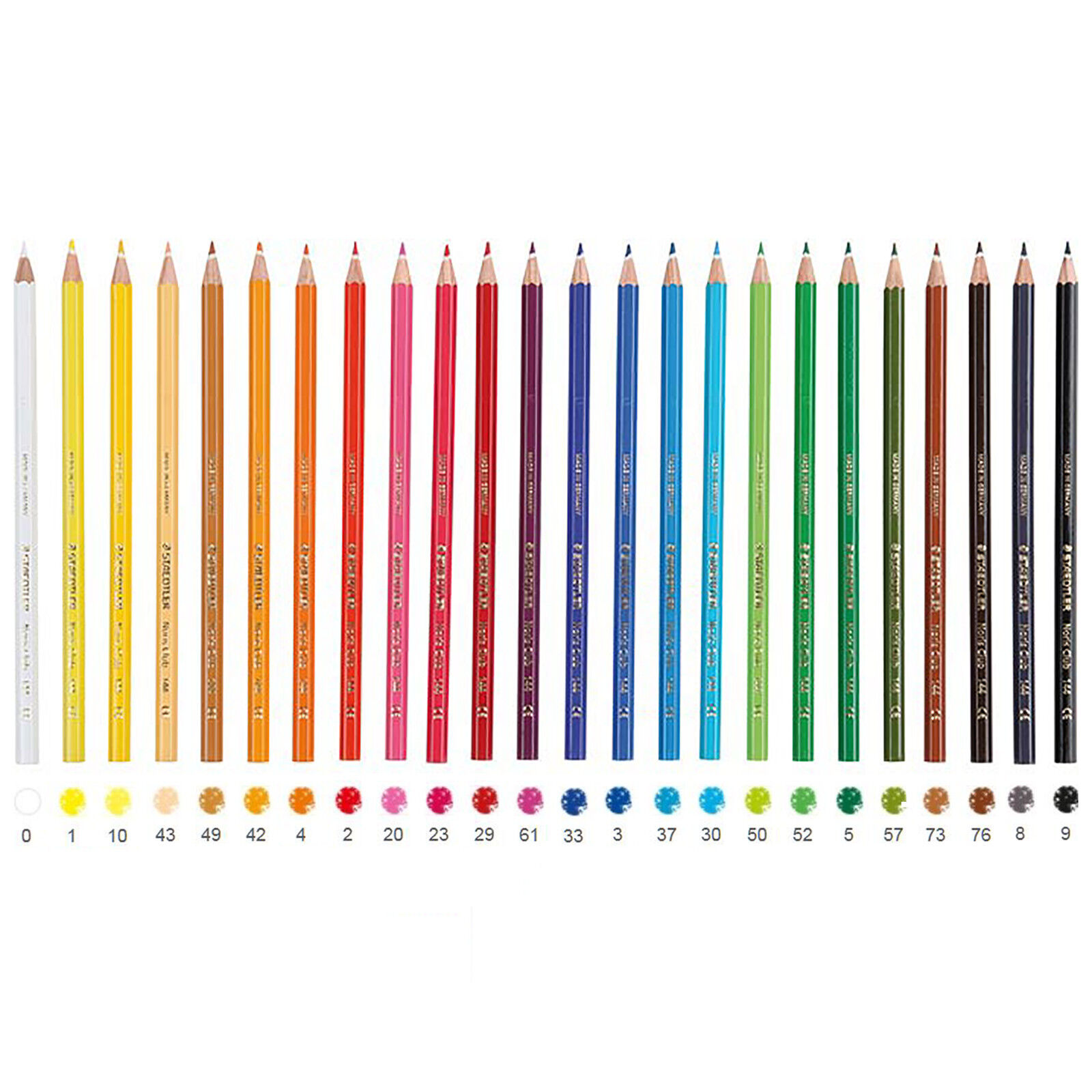 Staedtler Noris Club 144 NC24 Colouring Pencils Assorted Colours Pack of 24