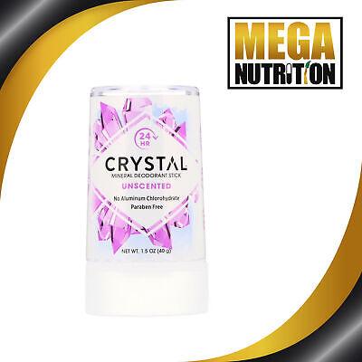 Crystal body Desodorante Mineral en Barra 40g No Aluminio O Parabenos