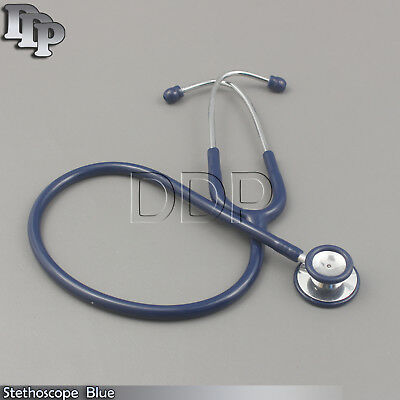 New Stethoscope Blue Color Surgical Medical Instrumentsb-789