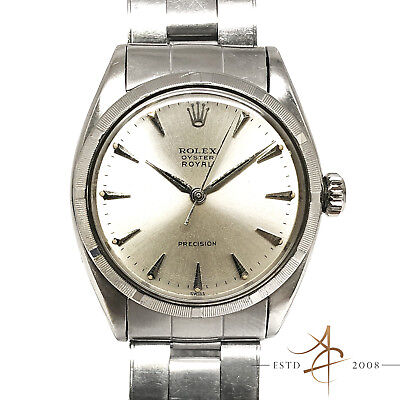 RARE Rolex Oyster Royal Precision Ref 6427 Winding Vintage Watch (Year 1951)