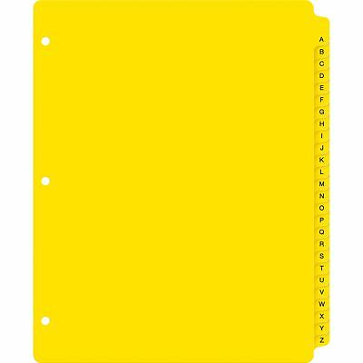 """Avery Dividers A-Z Extra-Wide 9-1/20""""W x 11-1/20""""L 26/Set YW"""