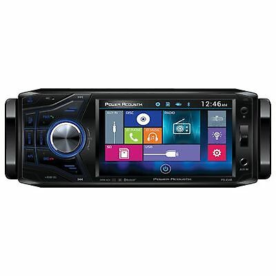 """Power Acoustik PD-454B PD454B 4.5"""" LCD DVD Bluetooth Stereo Radio USB AUX In"""