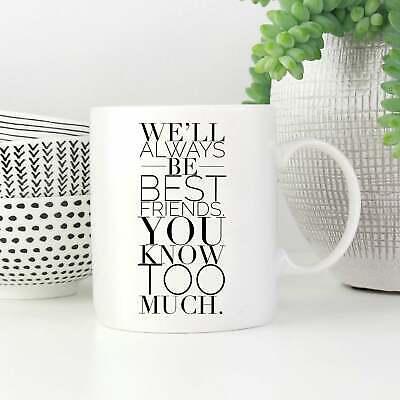 Birthday Gifts For Best Friend Female True Friendship Mug ()