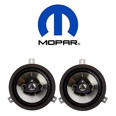 For Chrysler Jeep Wrangler Dodge 6.5inch Kicker Speaker Upgrade Set of 2 Mopar