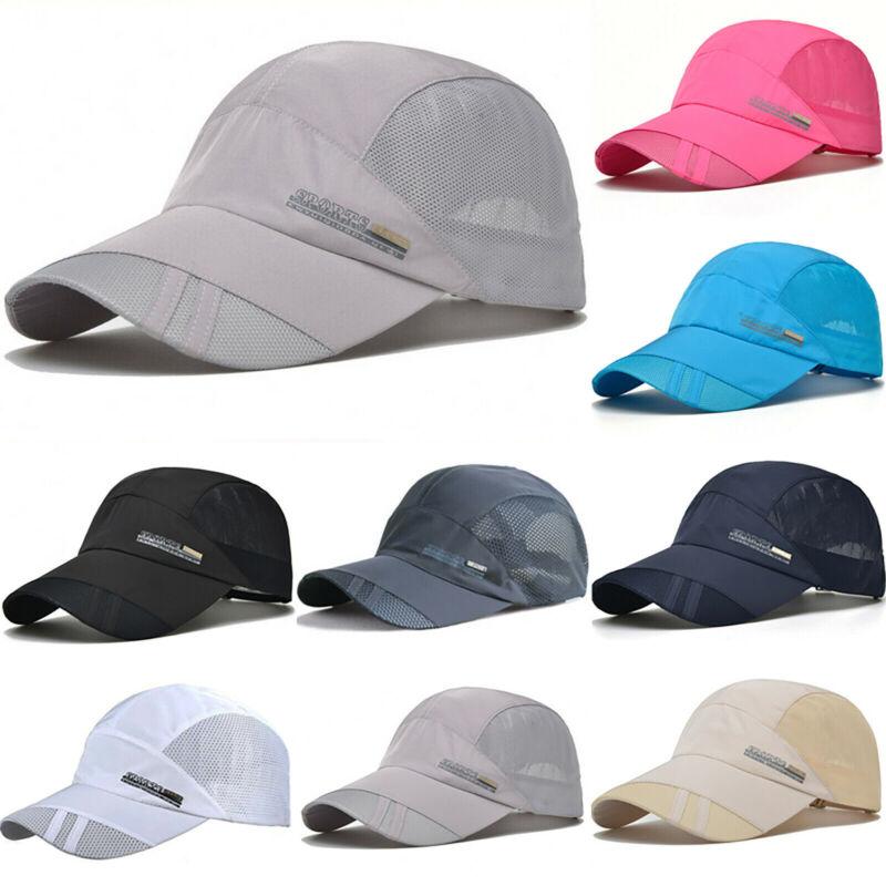 Damen Herren Caps Basecap Mütze Kappe Hut Mesh Sommer Sonnenhut Schirmmützen