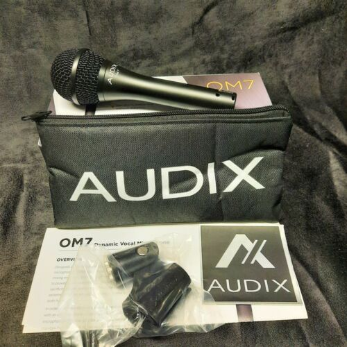 Audix OM7 Professional Dynamic Vocal Microphone - OpenBox MINT!