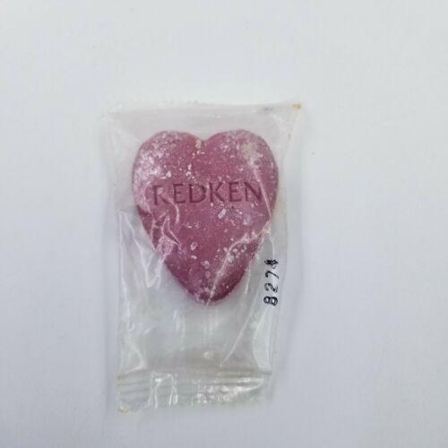 Vintage Heart Shape Redken Amino-Pon Beauty Bar Non-Alkaline Face Body Soap 1oz.