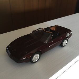 AMT ERTL #6689 40TH ANNIVERSARY CHEVROLET CORVETTE PROMO MODEL