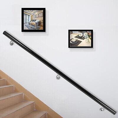 Pasamanos de Escaleras, Barandilla de Escalera de Aluminio Longitud de 152 cm