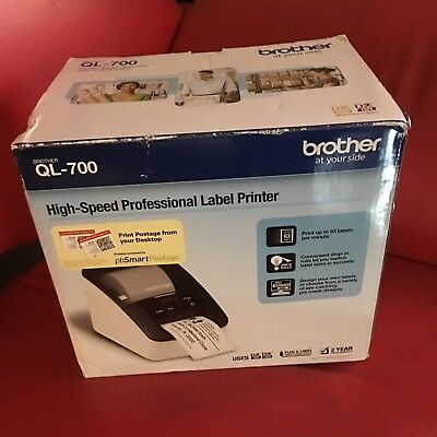 Brother Ql-700 Professional High Speed Thermal Label Maker Printer