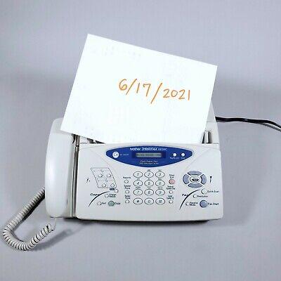 Brother Intellifax-885mc Plain Paper Fax Phone Copier Machine Wmessage Center