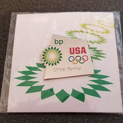2012 London Olympic Bp Usa Official Partner  Pin