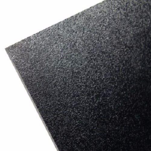 "ABS Plastic Sheet Black Vacuum Forming 1/8"" Thick 8"" x 12"""
