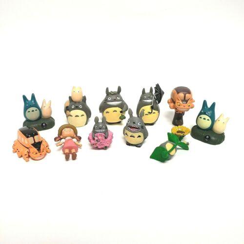 11 x My Neighbor TOTORO Nibariki CAT BUS MEI CHIBI BUNNY Miyazaki Mini Figures