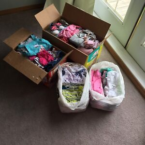 160 items!! Huge Baby Girl Clothing LOT