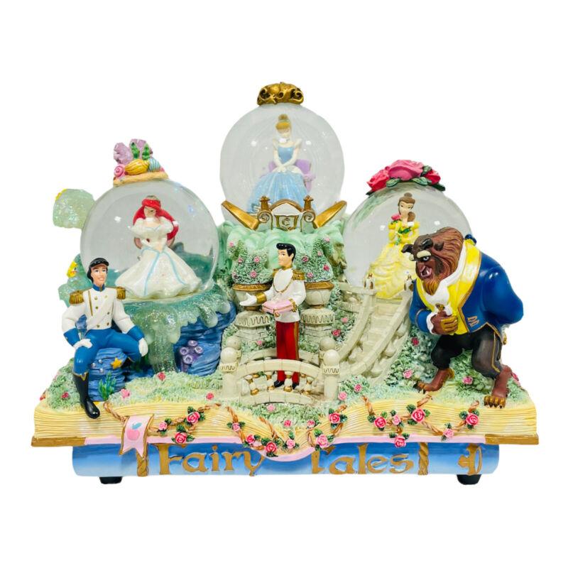 Disney Princess Fairy Tales Musical Snow Globe A Dream Is A Wish Your Heart Make