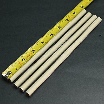 Lot of 4 Long Ceramic Knife Sharpening Rods 8 1/2