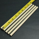 "Lot of 4 Long Ceramic Knife Sharpening Rods 8 1/2"" x 3/8"" Stick"