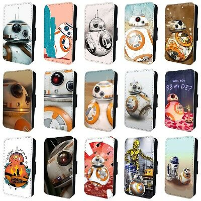 STAR WARS BB-8 DROID R2D2 CP30 FLIP PHONE CASE COVER for iPHONE 4 5 6 7 8 x
