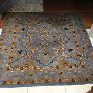 All natural wool rug