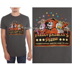 Freddy fazbear glow in the dark five nights at freddy s unisex t shirt